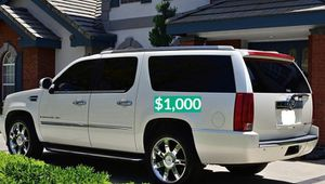 💲1OOO 2OO8 Cadillac Escalade one owner for Sale in Long Beach, CA