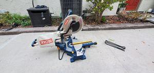 Ryobi 10 inch sliding miter saw for Sale in San Diego, CA