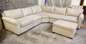 Astra sectional sofa with ottoman for Sale in Decatur, GA