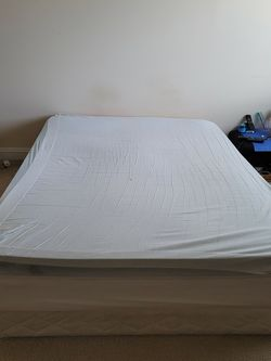 Orthopedic Queen Mattress W/ Box Frame for Sale in Reston,  VA