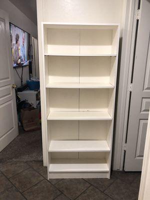 White Bookcase for Sale in Phoenix, AZ
