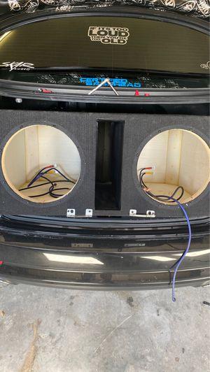 30hz custom box for Sale in Wilson, NC