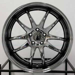 Nissan Infiniti Lexus Genesis coupe18x9.5 or 10.5 new chrome gold rims tires set for Sale in Hayward, CA