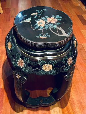 Asian vintage Garden Stool/cocktail table for Sale in El Cajon, CA