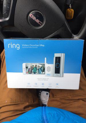 """RING VIDEO DOORBELL """"PRO"""" for Sale in Emeryville, CA"""