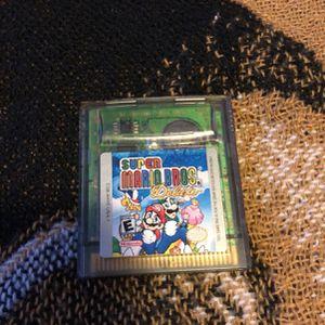 Nintendo Gameboy Color Super Mario Bros Deluxe for Sale in Elk River, MN