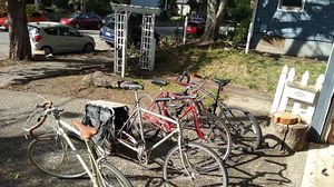 3 bikes, for parts or all fixable for Sale in Portland, OR