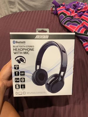 Bluetooth Headphones with Mic for Sale in Chino, CA