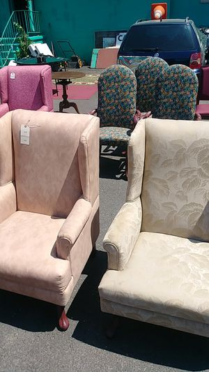 Wingback chairs for Sale in Camden, NJ