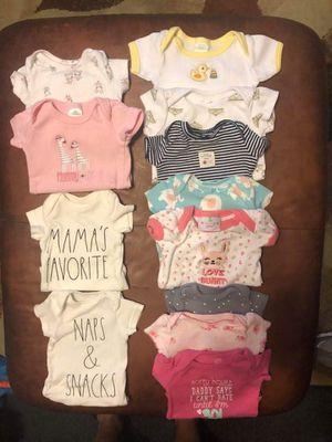 Onesies 3 newborn rest 0-3 months for Sale in Baltimore, MD