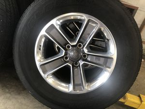 Jeep Wrangler Sahara rims and tire wheels for Sale in Springfield, PA