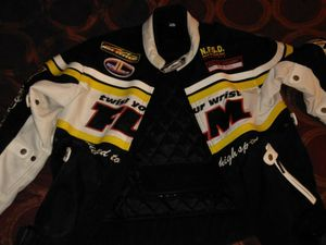Motorcycle racing jacket for Sale in Millen, GA