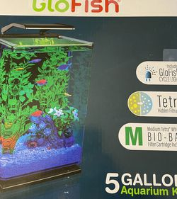 GLO FISH 5 Gallon Aquarium Kit for Sale in Linthicum Heights,  MD