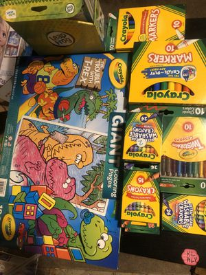 Crayola kids products and toys available and more for Sale in Dearborn, MI