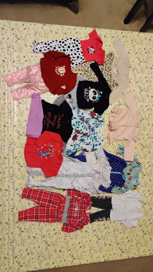 3-6 months baby girl clothes lot for Sale in Bensalem, PA