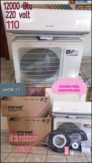 Air conditioner AC Split Minisplit Mini split Brackets 110 - 220 volt 😓 12000 BTU o 1 tonelada 🌀 for Sale in Miami, FL