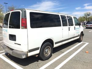 2001 Chevy Express extended 3500 work van for Sale in Gaithersburg, MD