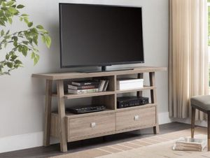 BEAUTIFUL TV STAND WITH DRAWERS NEW for Sale in Austin, TX