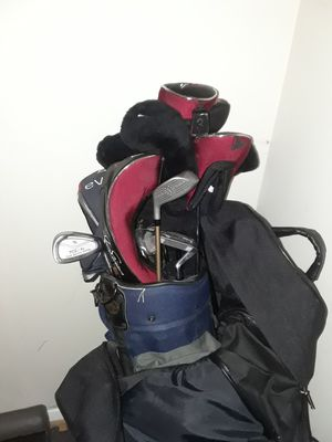 Golf club set and carrier can provide more pictures upon request for Sale in Boyds, MD