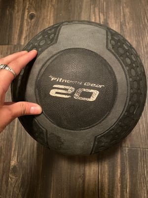 Medicine ball 20Lbs for Sale in Arlington, TX