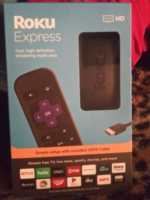 Roku express for Sale in Elmira, NY