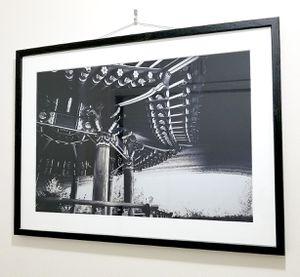 Large Framed Pagoda Photo Print for Sale in Tacoma, WA