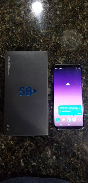 Samsung Galaxy S8 Plus for Sale in Ontario, CA