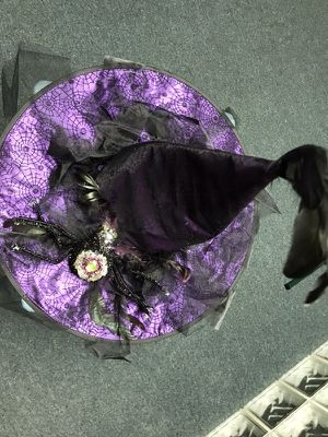 Purple Witch Hat Halloween Costume for Sale in Canton, MI