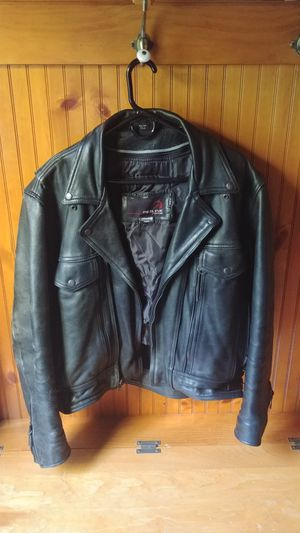 Redline Leather Motorcycle Jacket for Sale in Madison Heights, VA