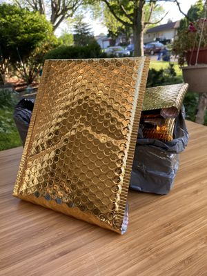 Gold bubble mailers for Sale in Columbus, OH