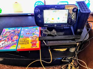 NINTENDO Wii U WITH 16 GAMES ON 1TB HARDRIVE PLUS 2 ON DISC BUNDLE 100%💥💥 for Sale in Escondido, CA