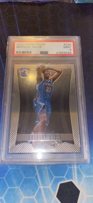 Anthony Davis Prizm Rookie PSA 9 for Sale in Painesville, OH