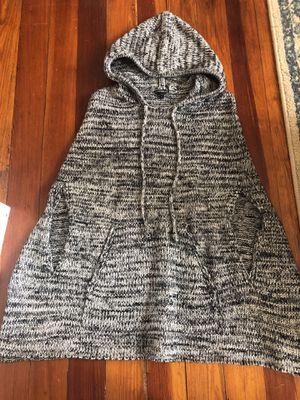 Women's sweater poncho -S for Sale in Boston, MA