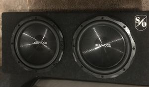 Kenwood Subwoofer 12'' 1200w It works great for Sale in Woods Cross, UT