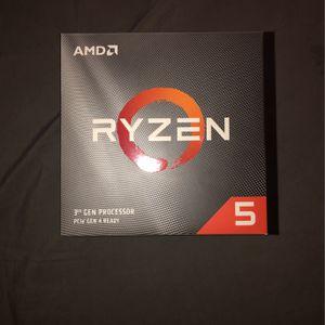 AMD ryzen 5 3rd gen processor 3600x for Sale in Philadelphia, PA