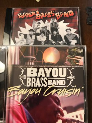 Jazzy Bayou Brass Band CD's for Sale in West Covina, CA