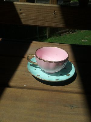 Custom teacup jewelry holder for rings, bracelet ect for Sale in Rockville, MD
