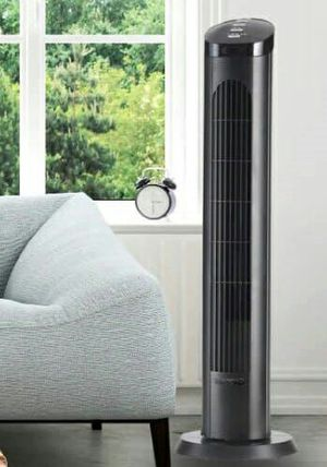 Oscillating Tower Fan 4 Speed Remote Control Revolving 40 inch Air Cooler with Timer for Sale in Santa Monica, CA