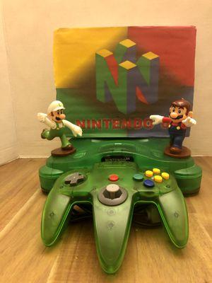 Nintendo 64 Jungle Green for Sale in Zephyrhills, FL