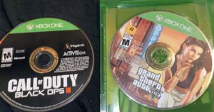 GTA 5 and black ops 3 Xbox one for Sale in Fresno, CA