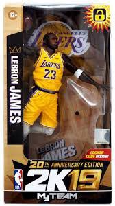 Lebron James 2k19 MyTeam figure (Macfarlane toys) for Sale in Minneapolis, MN