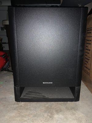 1 Subwoofer, 2 Speakers, 1 Amplifier for Sale in Arlington, TX