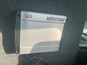 Kicker KX800.1 for Sale in Lynwood, CA