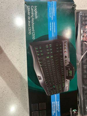 Logitech gaming keyboard g510 for Sale in Phoenix, AZ
