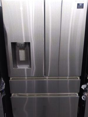 Nice!!! Beautiful Samsung 4 door Refrigerator, $39 down for Sale in Houston, TX