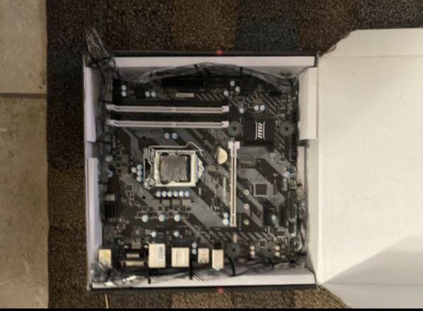 Desktop Computer PC Motherboard and Processor Bundle