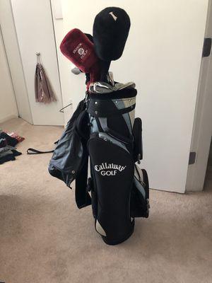 Top Flight golf club set w/ Callaway bag for Sale in Chicago, IL