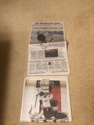 CAPS Win Washington Post Collectible for Sale in Fairfax Station, VA