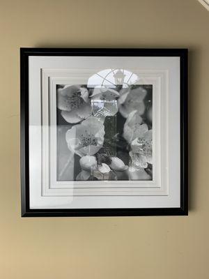 Black and White Flower Wall Art for Sale in Suwanee, GA