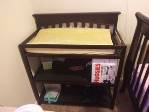 Hardly used changing table for Sale in Edgewood, MD
